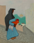 Milton Avery (American, 1885-1965) Mexican Woman, 1949 Oil on canvasboard 28 x 22 inches (71.1 x