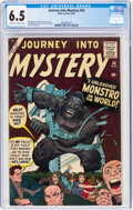 Silver Age (1956-1969):Superhero, Journey Into Mystery #54 (Marvel, 1959) CGC FN+ 6.5 Off-wh...