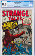 Silver Age (1956-1969):Adventure, Strange Tales #84 (Atlas, 1961) CGC VF 8.0 White pages....