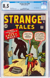 Strange Tales #100 (Marvel, 1962) CGC VF+ 8.5 White pages