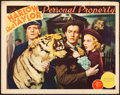 "Movie Posters:Romance, Personal Property (MGM, 1937). Fine/Very Fine. Lobby Card (11"" X 14""). Romance.. ..."