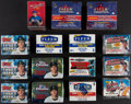 Baseball Cards:Sets, 1992-2001 Baseball Factory Sealed Traded/Update Set Collection (15)....