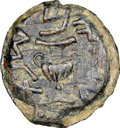 Ancients:Judaea, Ancients: JUDAEA. The Jewish War (AD 66-70). AE prutah (18mm, 5h). NGC Choice VF, scratches....