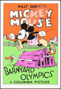 "Movie Posters:Animation, Barnyard Olympics (Circle Fine Art, R-1980). Rolled, Very Fine/Near Mint. Fine Art Serigraphs (5) Identical (21"" X 30.75""). ... (Total: 5 Items)"