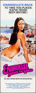 """Movie Posters:Adult, Emanuelle Around the World (Jerry Gross, 1980). Rolled, Very Fine+. Inserts (40) Identical (14"""" X 36""""). Adult.. ... (Total: 40 Items)"""