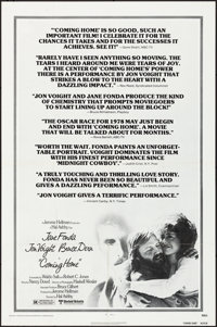"""Coming Home & Other Lot (United Artists, 1978). Folded, Very Fine. One Sheets (3) (27"""" X 41"""") & Mini L..."""