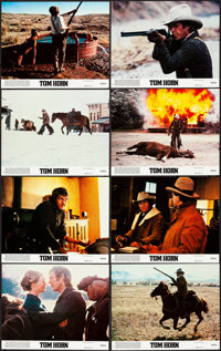 "Tom Horn & Other Lot (Warner Brothers, 1980). Very Fine+. Mini Lobby Card Sets of 8 (2 Sets) (8"" X 10""..."