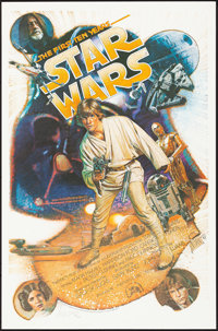 Star Wars: The First Ten Years (Killian Enterprises, 1987). Rolled, Very Fine. Autographed and Hand Numbered Limited Edi...