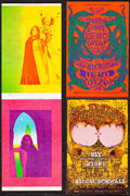 """Movie Posters:Rock and Roll, Big Brother & the Holding Co. at the Fillmore & Other Lot (Bill Graham, 1968). Very Fine. Promotional Postcards (2) (4.5"""" X ... (Total: 2 Items)"""