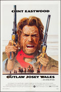 """Movie Posters:Western, The Outlaw Josey Wales (Warner Brothers, 1976). Folded, Very Fine. One Sheet (27"""" X 41"""") Roy Andersen Artwork. Western.. ..."""