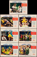 """Movie Posters:Comedy, Artists and Models (Paramount, 1955). Very Fine-. Lobby Cards (7) (11"""" X 14""""). Comedy.. ... (Total: 7 Items)"""