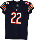 Football Collectibles:Uniforms, 2013 Matt Forte Game Issued & Signed Chicago Bears Jersey....