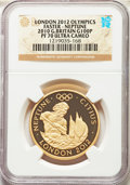 Great Britain: Elizabeth II gold Proof 100 Pounds 2010 PR70 Ultra Cameo NGC