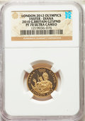 Great Britain: Elizabeth II gold Proof 25 Pounds 2010 PR70 Ultra Cameo NGC