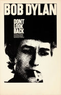 """Movie Posters:Rock and Roll, Don't Look Back (Leacock-Pennebaker, 1967). Very Fine-. Window Card (14"""" X 22"""").. ..."""