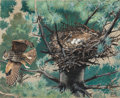 Works on Paper, Jacob Bates Abbott (American, 1895-1950). Group of Five Ornithological. Gouache on paper, each. 16-1/2 x 12 inches (41.9... (Total: 5 Items)