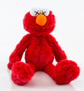 Collectible:Contemporary, KAWS X Sesame Street. Elmo, 2018. Plush toy. 17 x 12 x 5 inches (43.2 x 30.5 x 12.7 cm). Open Edition. Comes with origin...