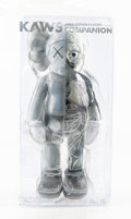 Collectible:Contemporary, KAWS (b. 1974). Dissected Companion (Grey), 2016. Painted cast vinyl. 10-1/2 x 4-1/2 x 3-1/2 inches (26.7 x 11.4 x 8.9 c...