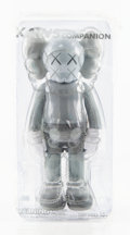 Collectible:Contemporary, KAWS (b. 1974). Companion (Grey), 2016. Painted cast vinyl. 10-1/2 x 4-1/2 x 3 inches (26.7 x 11.4 x 7.6 cm). Open Editi...