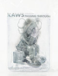 Collectible:Contemporary, KAWS (b. 1974). Passing Through (Grey), 2018. Painted cast vinyl. 8 x 6 x 6 inches (20.3 x 15.2 x 15.2 cm). Open Edition...