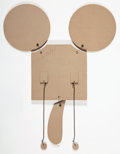 Sculpture:Contemporary (1950 to present), Claes Oldenburg (b. 1929). Geometric Mouse -- Scale D, 1971. Die-cut laminated photo-offset lithograph printed paper, st...