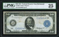 Large Size:Federal Reserve Notes, Fr. 1042 $50 1914 Federal Reserve Note PMG Very Fine 25.. ...