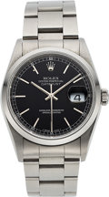 Timepieces:Wristwatch, Rolex, Ref. 16200, Steel Oyster Perpetual Datejust, circa 1997. ...