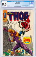 Silver Age (1956-1969):Superhero, Thor #140 (Marvel, 1967) CGC VF+ 8.5 Off-white to white pages....