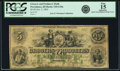 Providence, RI - Grocers and Producers Bank $5 October 3, 1865 RI-310 G10a SENC, Durand 1391 PCGS Apparent Fine 15