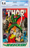 Silver Age (1956-1969):Superhero, Thor #148 (Marvel, 1968) CGC NM 9.4 Off-white to white pages....