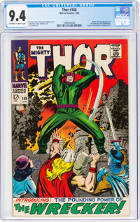 Thor #148 (Marvel, 1968) CGC NM 9.4 Off-white to white pages