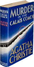 Books:Mystery & Detective Fiction, Agatha Christie. Murder in the Calais Coach. New York: 1934. First U. S. edition....