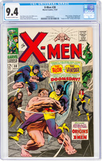 X-Men #38 (Marvel, 1967) CGC NM 9.4 Off-white to white pages