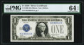 Small Size:Silver Certificates, Fr. 1600 $1 1928 Silver Certificate. PMG Choice Uncirculated 64 EPQ.. ...