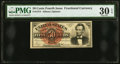 Fractional Currency:Fourth Issue, Fr. 1374 50¢ Fourth Issue Lincoln PMG Very Fine 30 EPQ.. ...