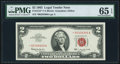 Small Size:Legal Tender Notes, Fr. 1513* $2 1963 Legal Tender Star Note. PMG Gem Uncirculated 65 EPQ.. ...
