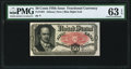 Fractional Currency:Fifth Issue, Fr. 1381 50¢ Fifth Issue PMG Choice Uncirculated 63 EPQ.. ...