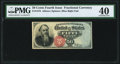 Fractional Currency:Fourth Issue, Fr. 1376 50¢ Fourth Issue Stanton PMG Extremely Fine 40.. ...