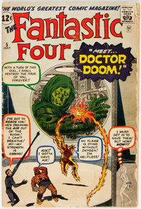 Fantastic Four #5 (Marvel, 1962) Condition: GD-