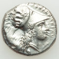 Ancients: LUCANIA. Heraclea. Ca. 330-325 BC. AR stater (21mm, 7.84 gm, 3h). About XF