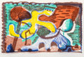 Prints:Contemporary, David Hockney (b. 1937). The new and the old and the new, 1991. Lithograph in colors on paper. 29-3/4 x 42 inches (75.6 ...