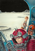 Mainstream Illustration, Edmund (Emsh) Emshwiller (American, 1925-1990). Have Spacesuit-Will Travel, Fantasy and Science Fiction cover, August 19...