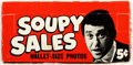 Memorabilia:Trading Cards, Soupy Sales Trading Cards Wax Box (Topps, 1967)....
