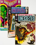 Bronze Age (1970-1979):Horror, Unexpected Group of 45 (DC, 1968-82) Condition: Average VG.... (Total: 45 Comic Books)