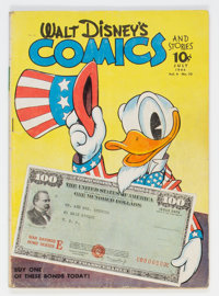 Walt Disney's Comics and Stories #46 Double Cover (Dell, 1944) Condition: VG