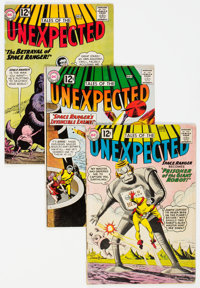 Tales of the Unexpected Group of 23 (DC, 1962-67) Condition: Average VG.... (Total: 23 Comic Books)