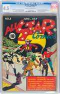 Golden Age (1938-1955):Superhero, All Star Comics #5 (DC, 1941) CGC VG+ 4.5 Cream to off-white pages....