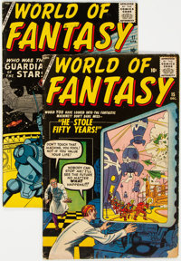 World of Fantasy #15 and 17 Group (Atlas, 1958-59).... (Total: 2 )