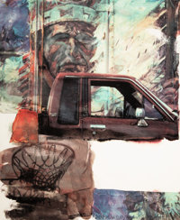 Robert Rauschenberg (1925-2008) American Indian, 2000 Archival pigment print in colors on Concord ra