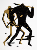 Prints & Multiples:Contemporary, Cleon Peterson (b. 1973). Doom Alone II, 2017. Screenprint in colors on wove paper. 24 x 18 inches (61 x 45.7 cm) (sheet...